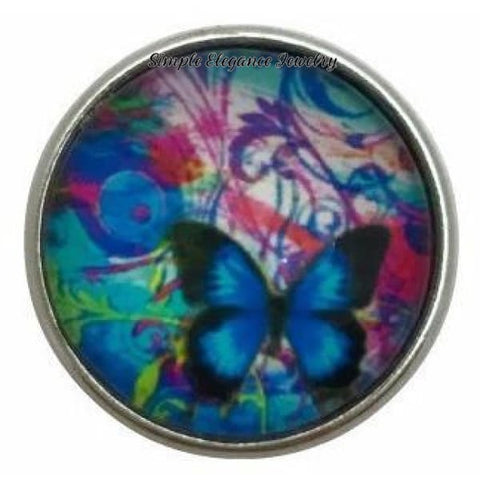 Butterfly Snap Charm 20mm for Snap Jewelry - Snap Jewelry