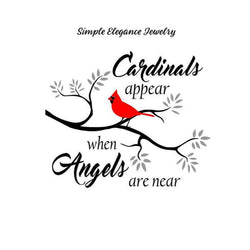 Cardinal Watching Snap Charm 20mm - Snap Jewelry