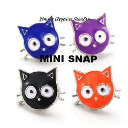 Cat Snap-12mm MINI SNAP - Snap Jewelry