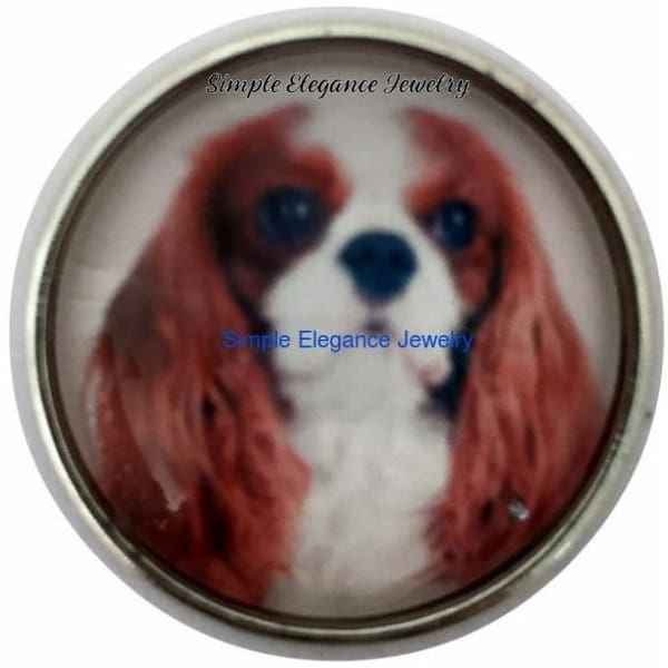Cavalier King Charles Spaniel Dog 20mm for Snap Jewelry - Snap Jewelry