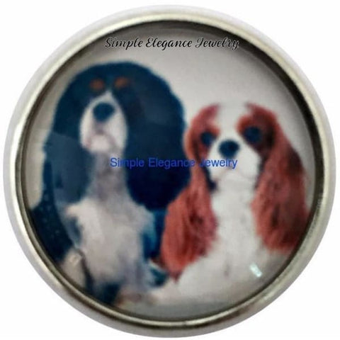 Caviler King Charles Spaniels Snap 20mm for Snap Jewelry - Snap Jewelry