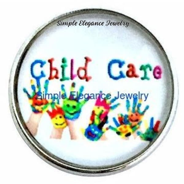 Child Care Snap 20mm for Snap Charm Jewelry - Snap Jewelry