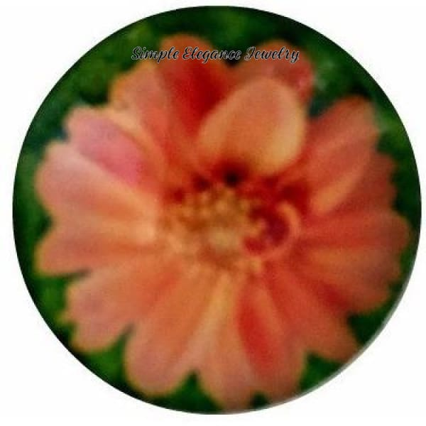 Coral Flower Snap 18mm for Snap Jewelry - Snap Jewelry