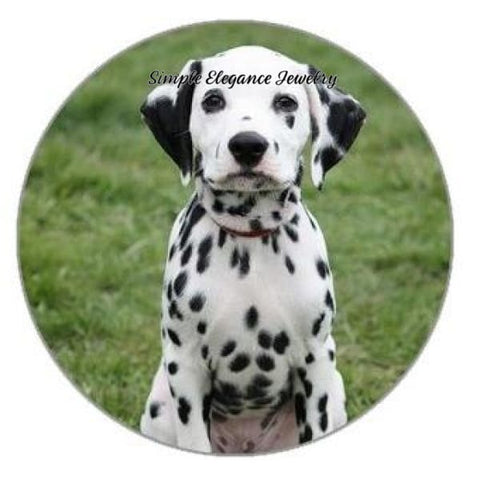 Dalmation Dog Snap 20mm for Snap Jewelry - Snap Jewelry