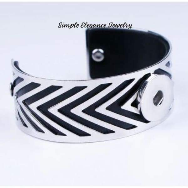 Decorative Cuff Snap Bracelet 20mm - Snap Jewelry