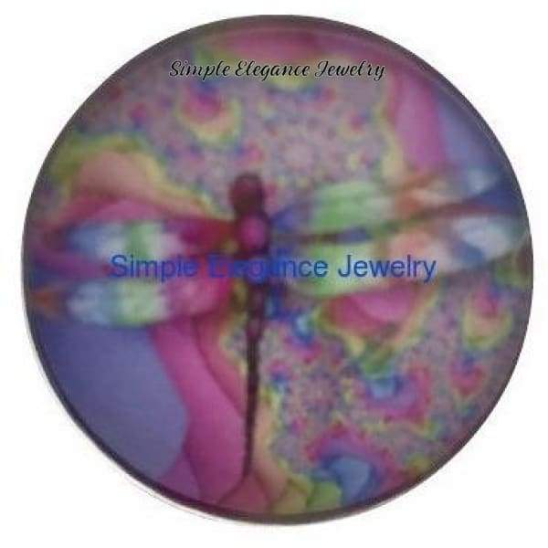 Dragonfly Snap Charm 20mm - Snap Jewelry