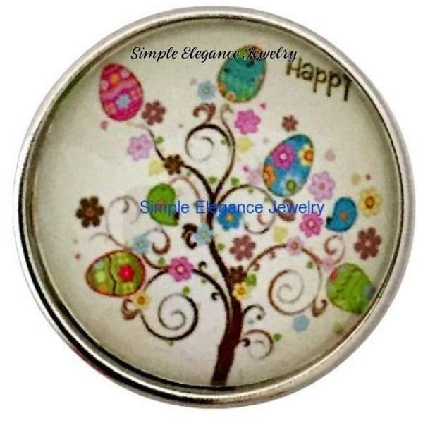 Easter Egg Tree Snap 20mm for Snap Jewelry - Snap Jewelry