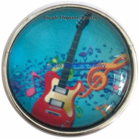 Electric Guitar Snap 20mm for Snap Jewelry - Snap Jewelry
