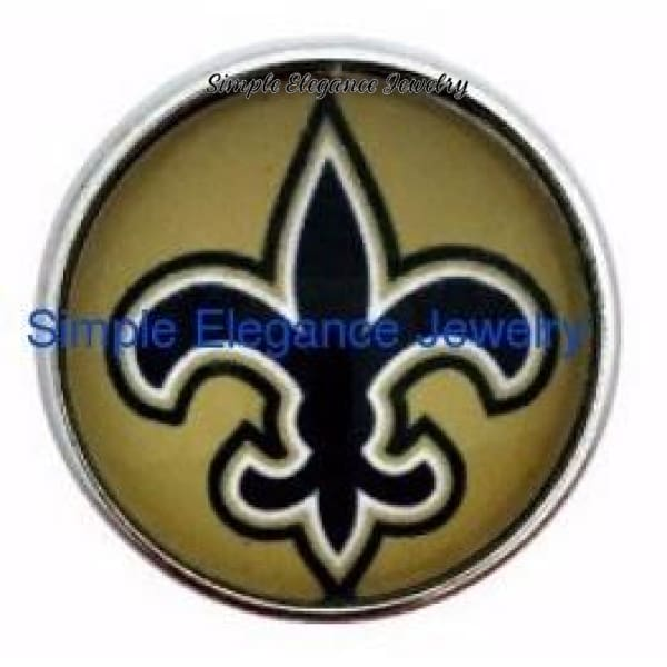 Fleur-de-lis Snap 20mm for Snap Jewelry - Snap Jewelry