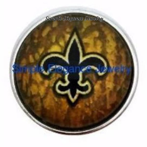 Fleur-de lis Snap 20mm for Snap Jewelry - Snap Jewelry
