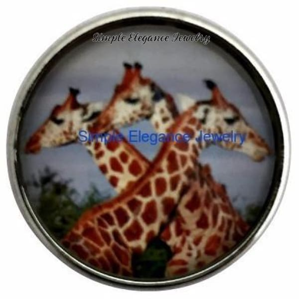 Giraffe Snap 20mm for Snap Jewelry - Snap Jewelry