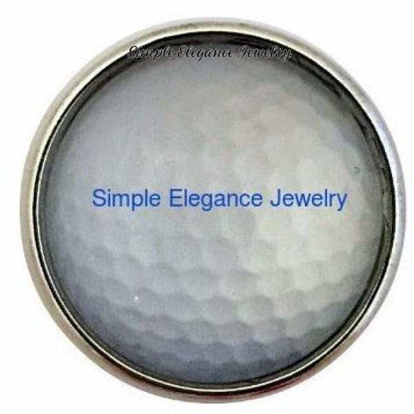 Golf Ball Snap 20mm - Snap Jewelry