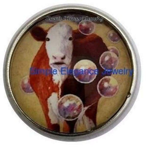 Herford Cow Snap 20mm for Snap Jewelry - Snap Jewelry