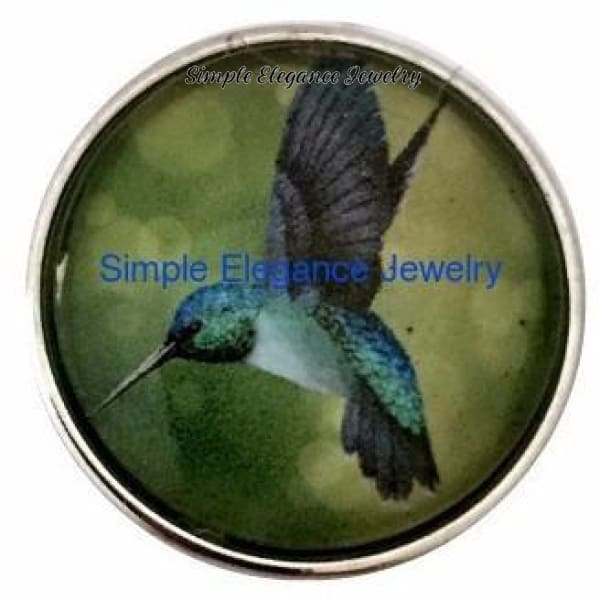 Hummingbird Snap 20mm for Snap Jewelry - Snap Jewelry