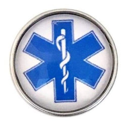 Medical Snap Charm 20mm for Snap Jewelry - Snap Jewelry