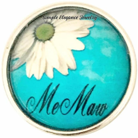 MEMAW Snap Charm 20mm for Snap Jewelry - Snap Jewelry