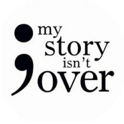 My Story Isnt Over Snap Charm 20mm and 12mm Snaps for Snap Jewelry - 20mm - Snap Jewelry