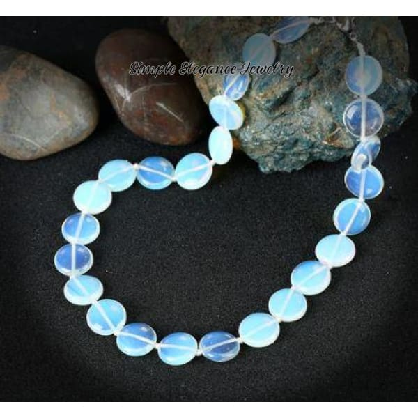 Opal Stone Quartz Natural Stone Necklace - Natural Stone Necklaces