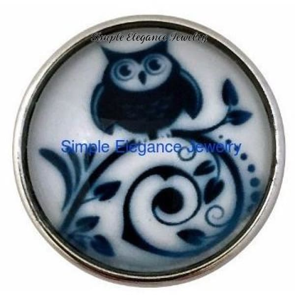 Owl Snap 20mm - Snap Jewelry