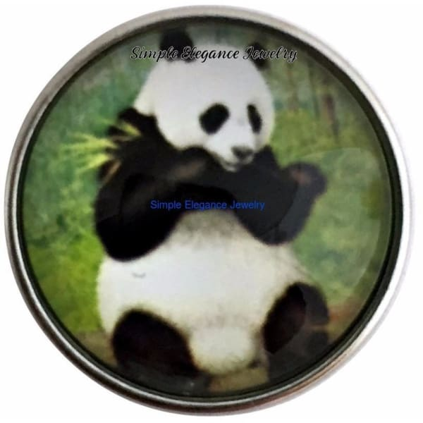 Panda Snap 20mm for Snap Jewelry - Snap Jewelry