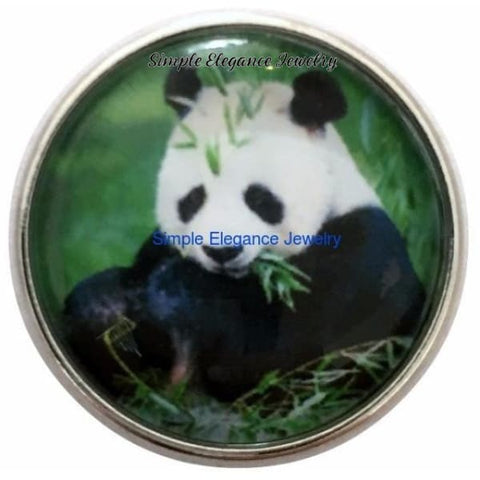 Panda Snap Charm 20mm for Snap Jewelry - Snap Jewelry