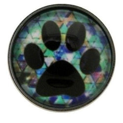 Paw Print Snap 20mm for Snap Jewelry - Snap Jewelry