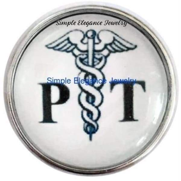 Physical Therapist Snap Charm 20mm for Snap Jewelry - Snap Jewelry