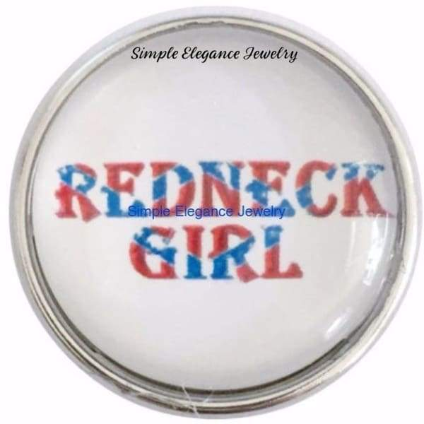 Redneck Girl Snap 20mm for Snap Charm Jewelry - Snap Jewelry