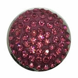 Rhinestone Bling Snap 20mm (Assorted Colors) - Snap Jewelry