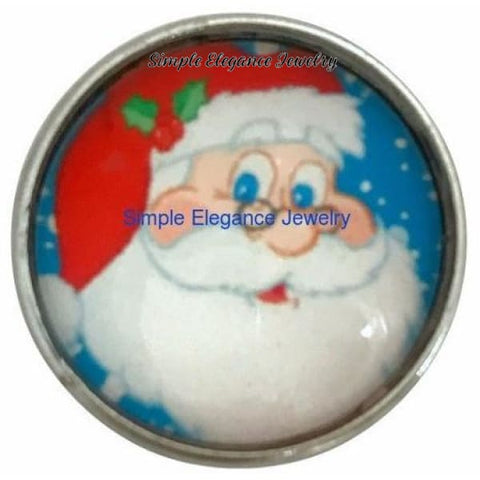 Santa Snap Charm 20mm for Snap Jewelry - Snap Jewelry