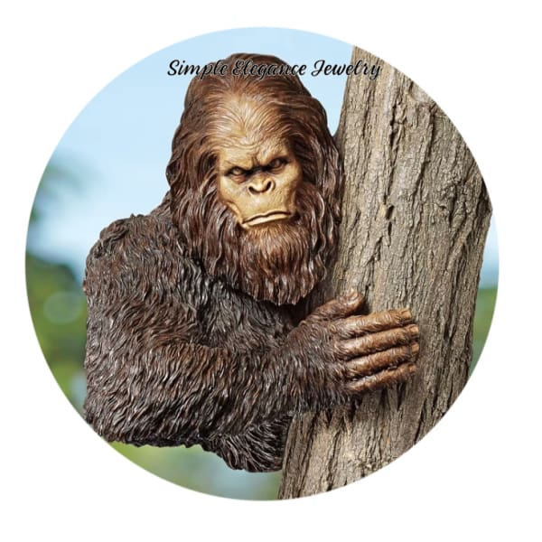 Sasquatch Snap Charm 20mm - Snap Jewelry