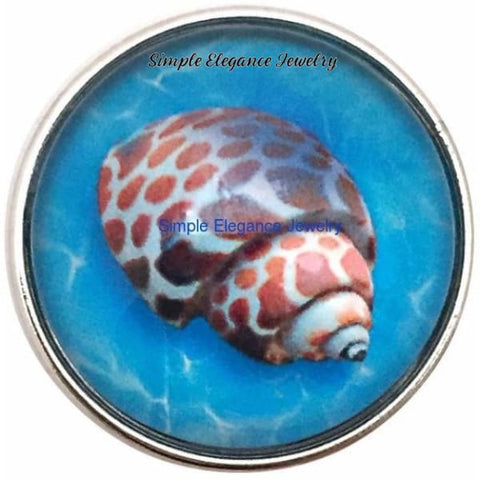 Sea Shell 20mm Snap - Snap Jewelry