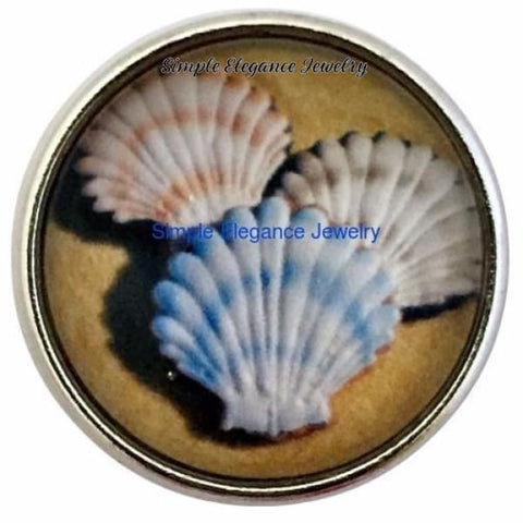 Sea Shell Snap Charm 20mm for Snap Jewelry - Snap Jewelry