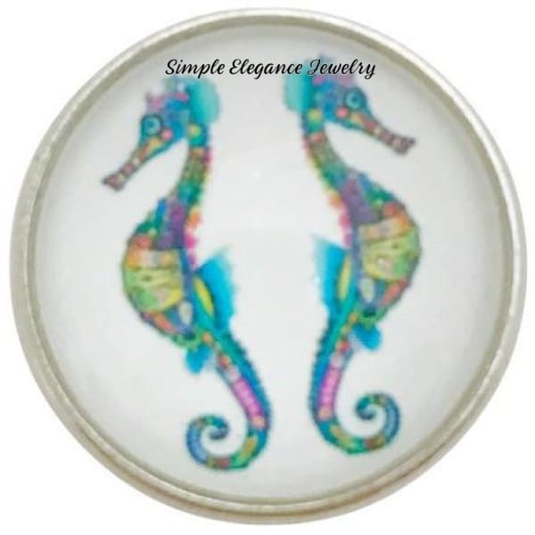 Seahorse Snap Charm 20mm for Snap Jewelry - Snap Jewelry