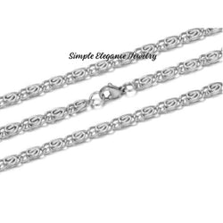 Snail Style Stainless Steel Chain - Stainless Steel Inspiration Bracelets