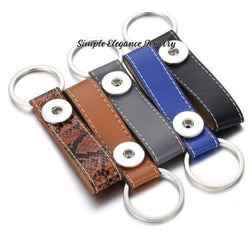 Snap Key Chain/ Fob Single Snap 20mm Snaps - Snap Jewelry