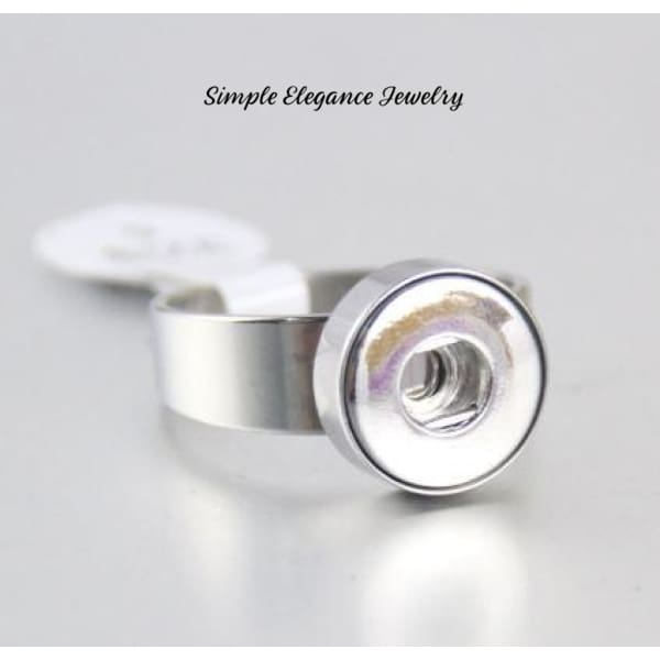 Snap Ring-12mm Snap-Stainless Steel - 7 - Snap Jewelry