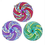Swirl Acrylic Snap 18mm for Snap Jewelry - Snap Jewelry