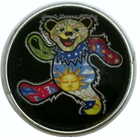 Teddy Bear Snap Charm 20mm for Snap Jewelry - Snap Jewelry
