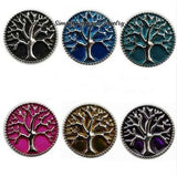 Tree of Life Metal Snap 20mm for Snap Charm Jewelry - Snap Jewelry