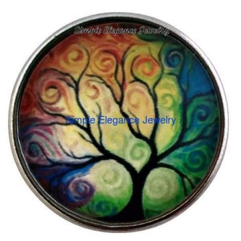 Tree of Life Snap 20mm - Snap Jewelry