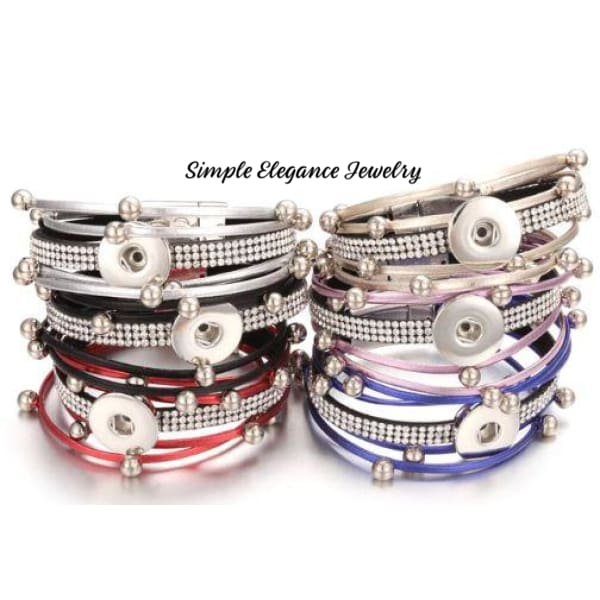 Triple Magnetic Snap Bracelet 20mm - Snap Jewelry