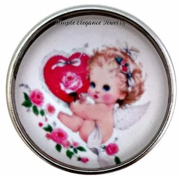 Valentine Cupid Snap 20mm for Snap Jewelry - Snap Jewelry