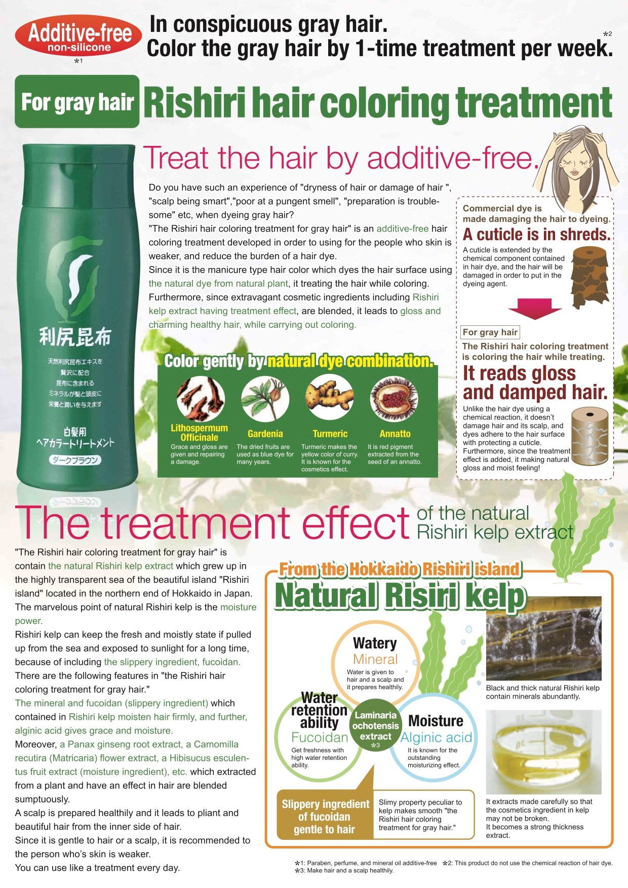 Exquisite Natural Hair Color Treatment Ways - The haircut community.