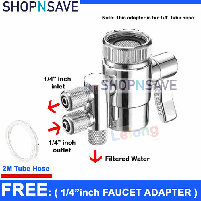 Faucet adapter, 2 Ways diverter, kitchen faucet adapter, 2 Ways Faucet Adapter