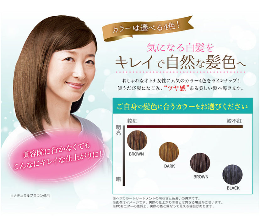 [BLACK] Rishiri hair coloring treatment, Non-Additive & Silicons, Made in Japan! [利尻昆布染髮劑-黑色 日本第一 染髮過敏的救星] - SHOP N' SAVE effortless Shopping!