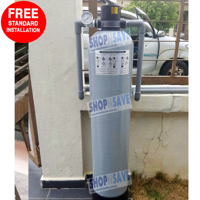 Pentair 1044 FRP (10' X 44'), Outdoor Master Filter, Outdoor Water Filter [Free Installation] - SHOP N' SAVE effortless Shopping!