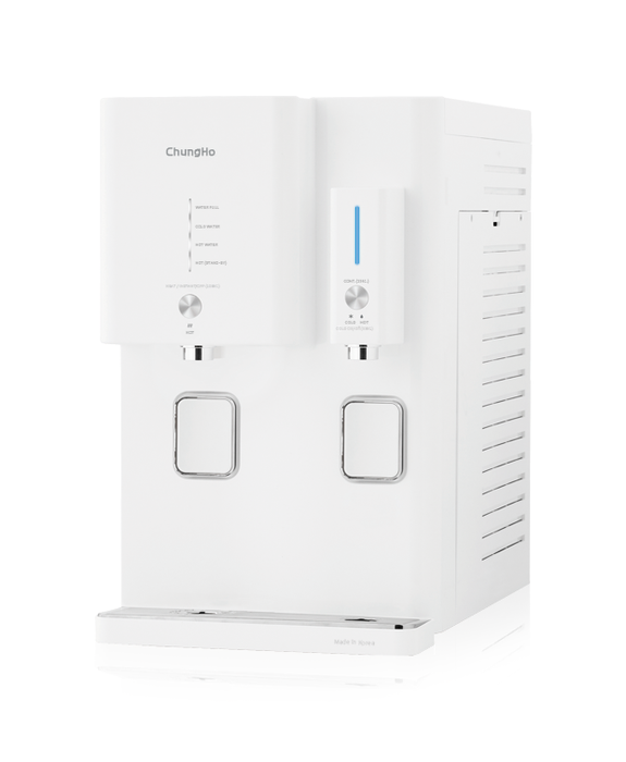 ChungHo Water Purifier OMNI (WHITE) Hot Cold Ambient Water Dispenser - SHOP N' SAVE effortless Shopping!
