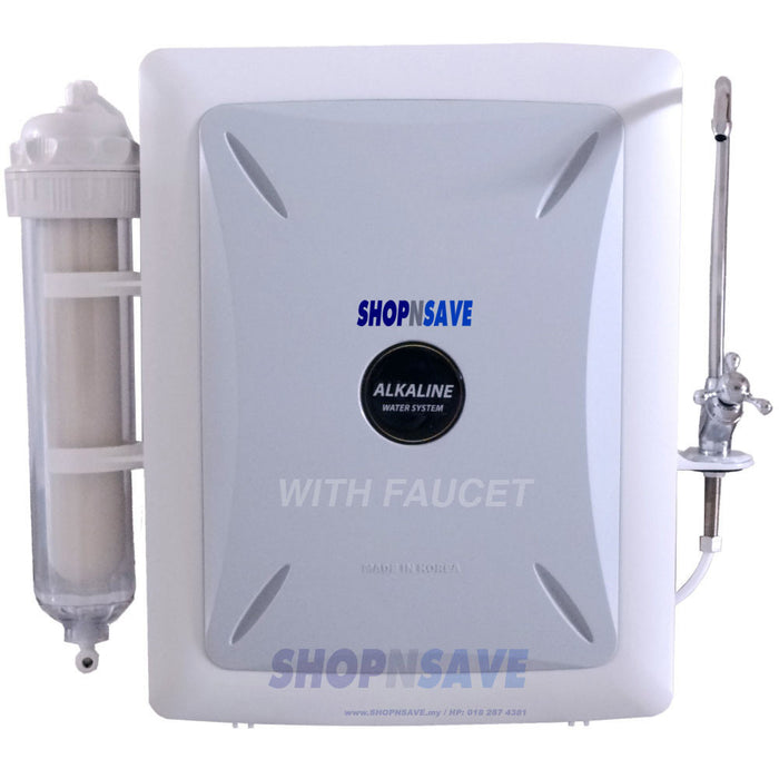 KR2000, Korea Alkaline Water Purifier, Alkaline Water System, *With Faucet - SHOP N' SAVE effortless Shopping!