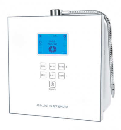 Luxury Ioncares 7000 Premium Alkaline Water Ionizer *White - SHOP N' SAVE effortless Shopping!